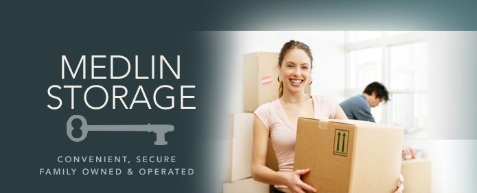 Medlin Storage - Convenient, Secure, Family Owned & Operated